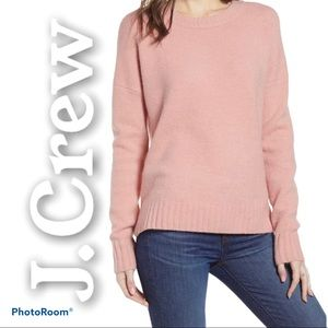 J.Crew S wool/alpaca sweater knit thick cozy